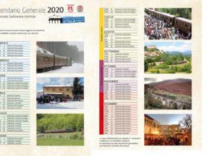 calendario 2020 Transiberiana d'Italia